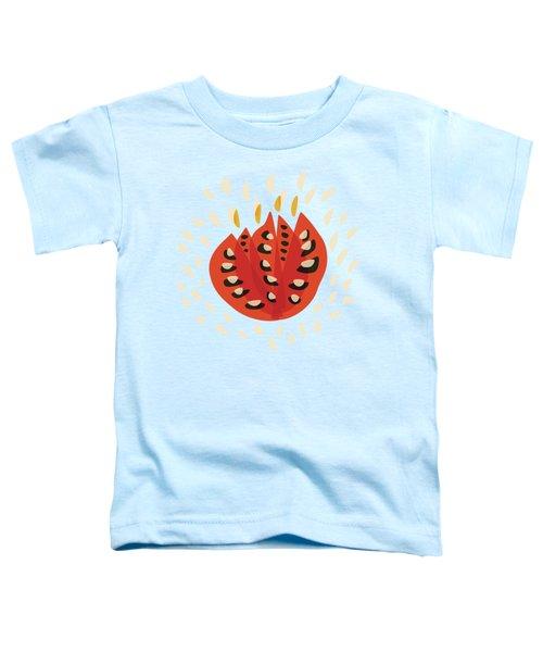 Decorative Beautiful Abstract Tulip Toddler T-Shirt
