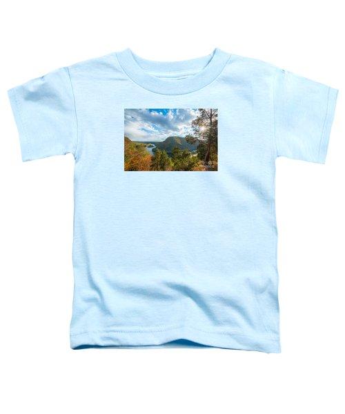 Delaware Water Gap In Autumn Toddler T-Shirt