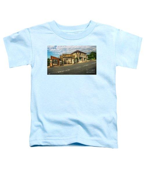 Derelict Old Garage Toddler T-Shirt