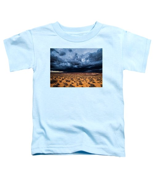 Toddler T-Shirt featuring the photograph Desert Clouds by Whit Richardson