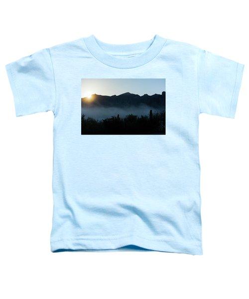Desert Inversion Sunrise Toddler T-Shirt
