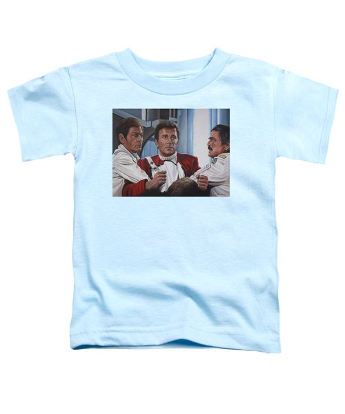 Despiration In His Eyes Toddler T-Shirt