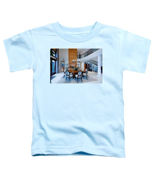Dining In The Round Toddler T-Shirt