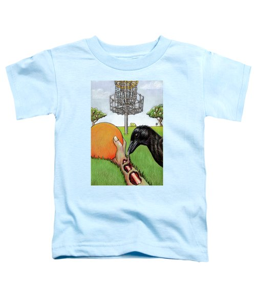 Disc Golf Nightmare Toddler T-Shirt