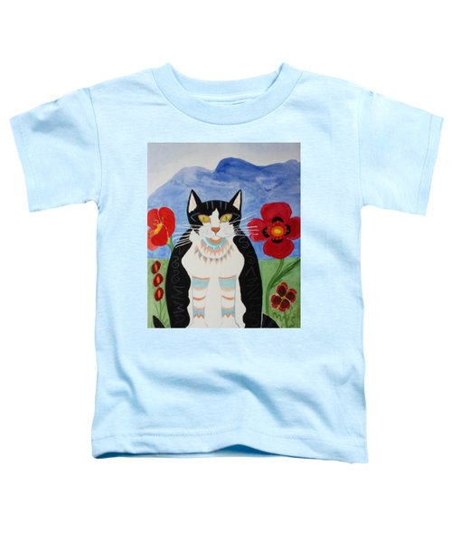 Diwali Tux Cat Toddler T-Shirt
