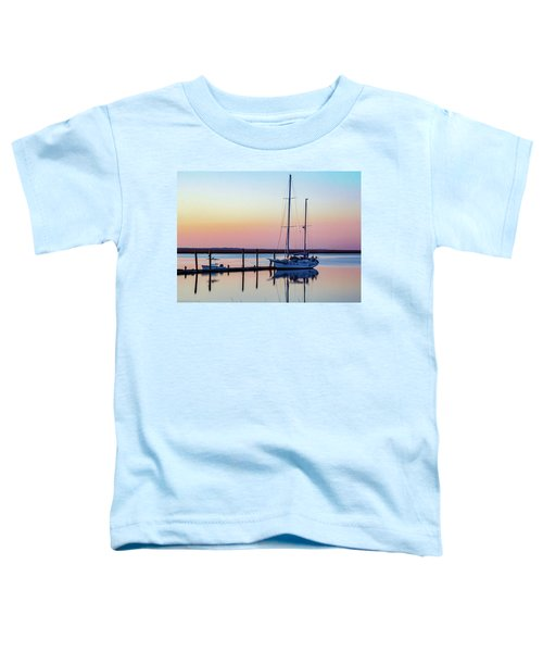Docked On Jekyll Island Toddler T-Shirt