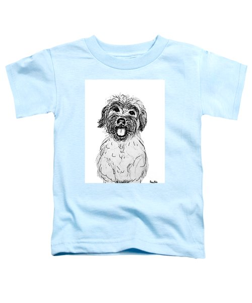 Dog Sketch In Charcoal 6 Toddler T-Shirt