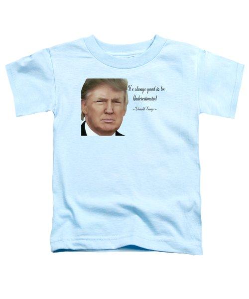 Donald Trump 0100 Toddler T-Shirt