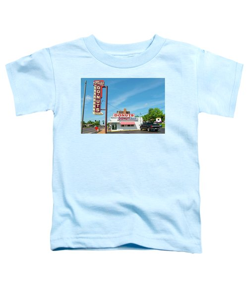 Donut Drive In Toddler T-Shirt