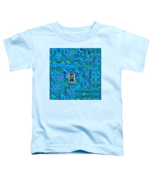 Doorway Into Multi-layers Of Water Art Collage Toddler T-Shirt