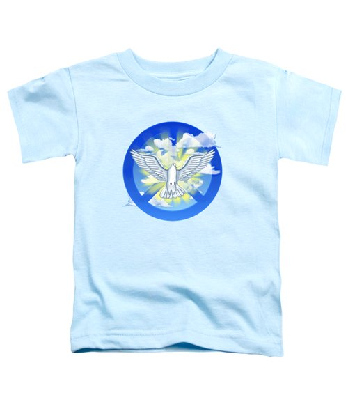 Dove Of Peace Toddler T-Shirt by Chris MacDonald