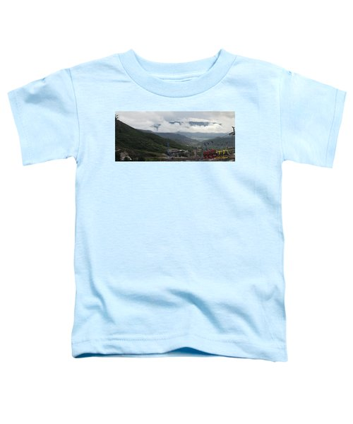 Down The Valley At Snowmass #3 Toddler T-Shirt