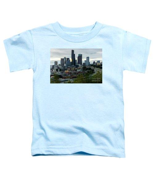 Downtown Seattle,washington Toddler T-Shirt