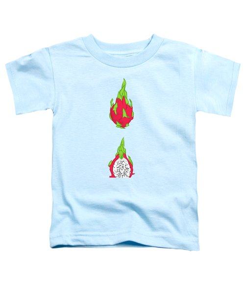 Dragon Fruit Toddler T-Shirt by Evgenia Chuvardina