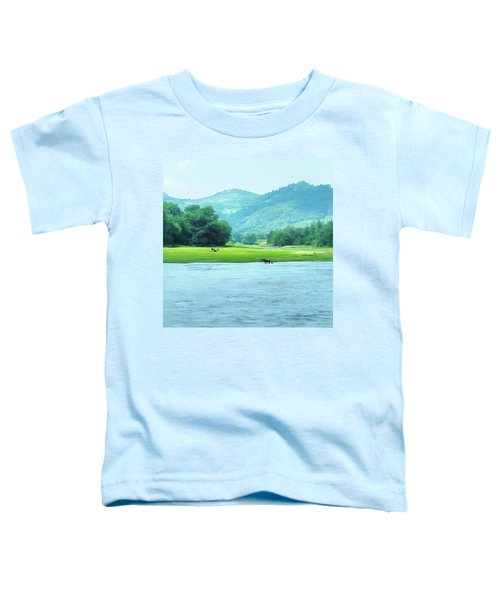 Animals In Li River Toddler T-Shirt