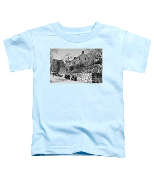 Dyckman Farmhouse  Toddler T-Shirt by Cole Thompson