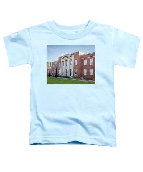E K Long Building Toddler T-Shirt