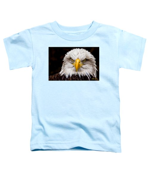 Defiant And Resolute - Bald Eagle Toddler T-Shirt