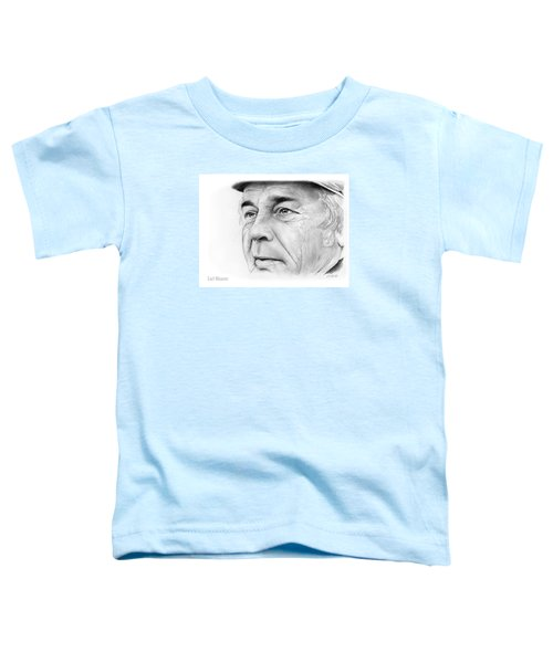 Earl Weaver Toddler T-Shirt by Greg Joens