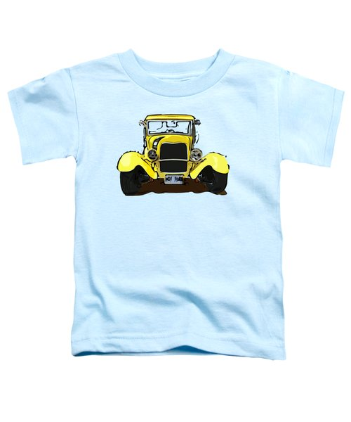 Early 1930s Ford Yellow Toddler T-Shirt
