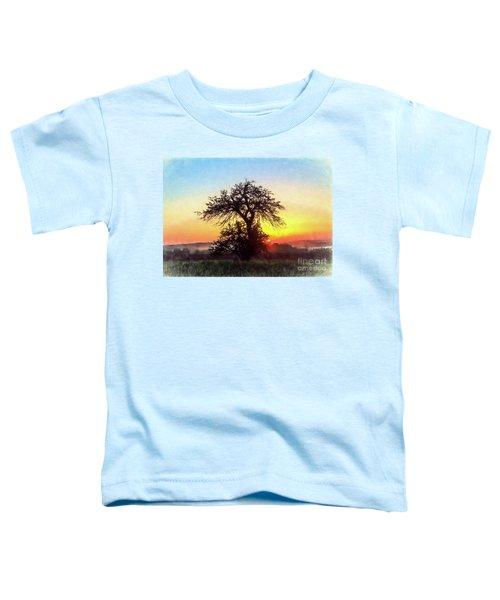 Early Morning Sunrise Toddler T-Shirt