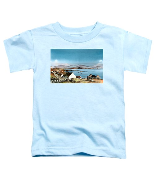 East End, Inishboffin, Galway Toddler T-Shirt