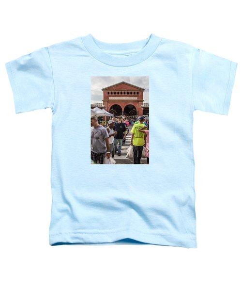 Eastern Market Summer Detroit  Toddler T-Shirt