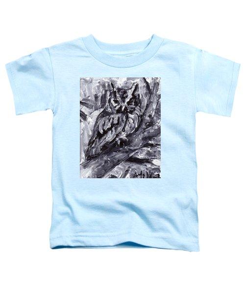 Eastern Screech-owl Toddler T-Shirt