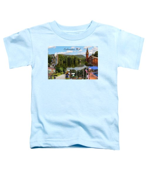 Easthampton Ma Collage Toddler T-Shirt