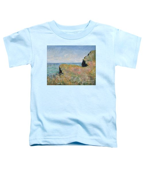 Edge Of The Cliff Pourville Toddler T-Shirt