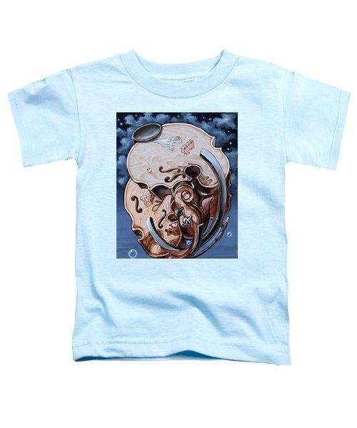 Einstein's Violin. Op.2763 Toddler T-Shirt