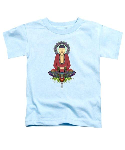 Electric Buddha Toddler T-Shirt