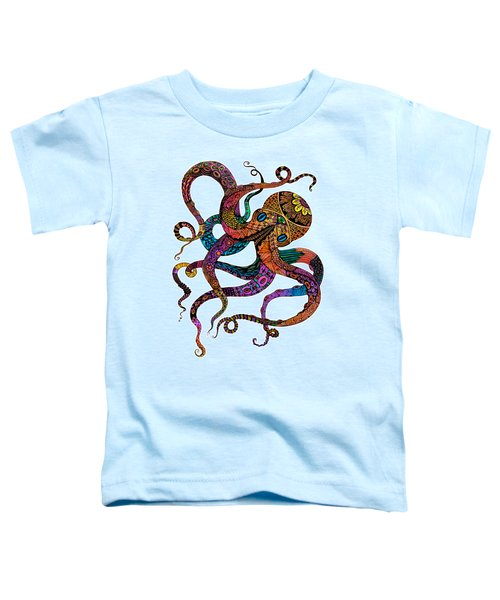 Electric Octopus Toddler T-Shirt