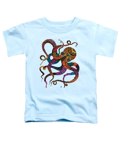 Electric Octopus Toddler T-Shirt