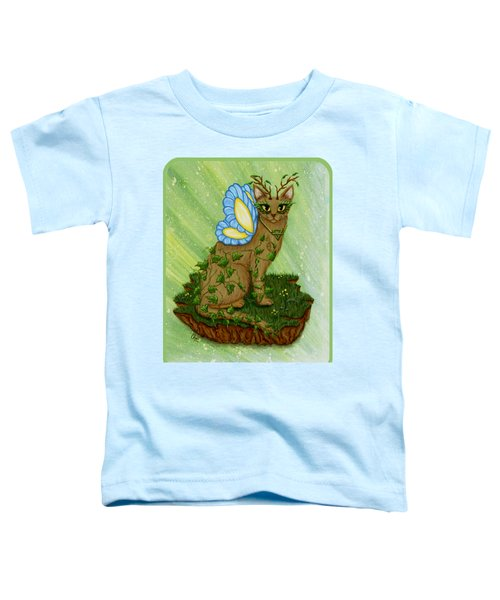 Elemental Earth Fairy Cat Toddler T-Shirt