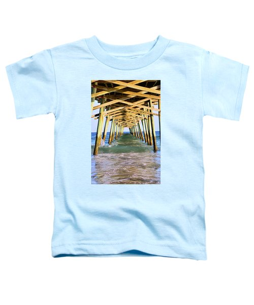 Emerald Isles Pier Toddler T-Shirt