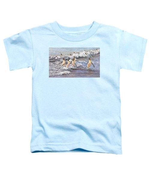 Emperor Penguins Toddler T-Shirt