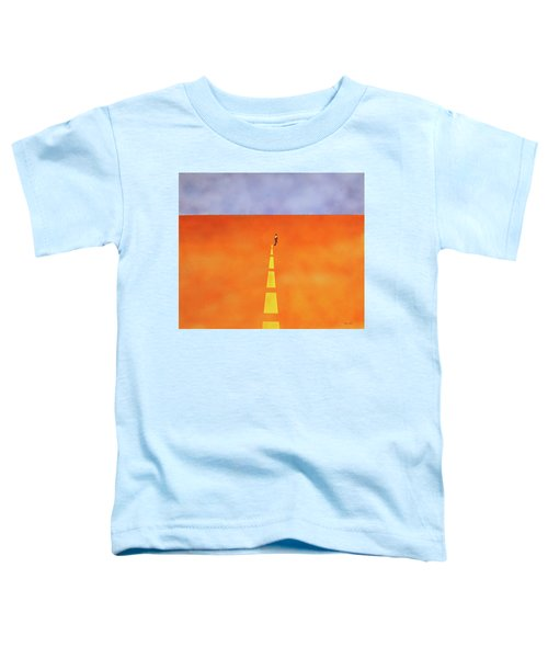 End Of The Line Toddler T-Shirt