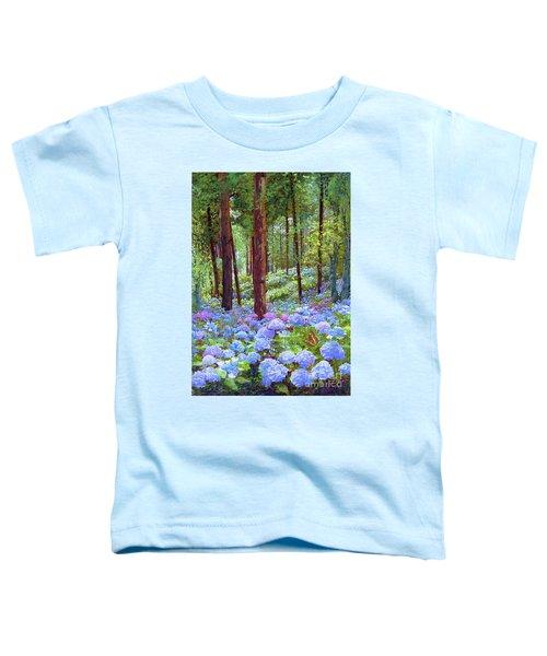 Endless Summer Blue Hydrangeas Toddler T-Shirt