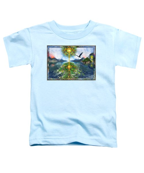 Etheric Lake Toddler T-Shirt