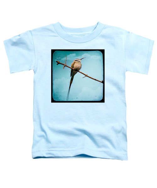 Exotic Birds - White Throated Bee Eater Toddler T-Shirt