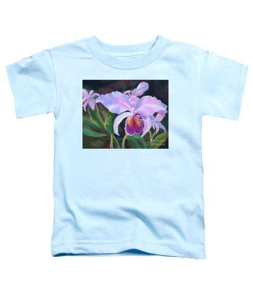 Exotic Pink Orchid Toddler T-Shirt