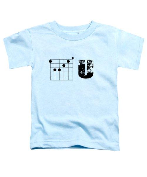F Chord U Toddler T-Shirt
