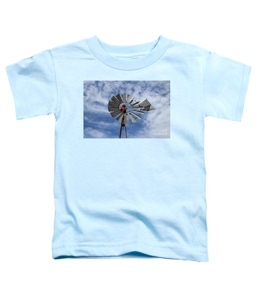 Toddler T-Shirt featuring the photograph Facing Into The Breeze by Stephen Mitchell