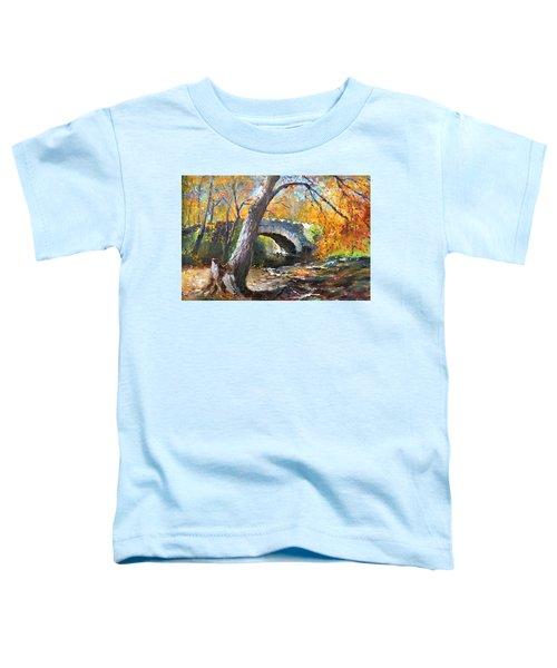 Fall At Three Sisters Islands Toddler T-Shirt