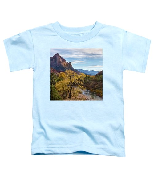 Fall Evening At Zion Toddler T-Shirt