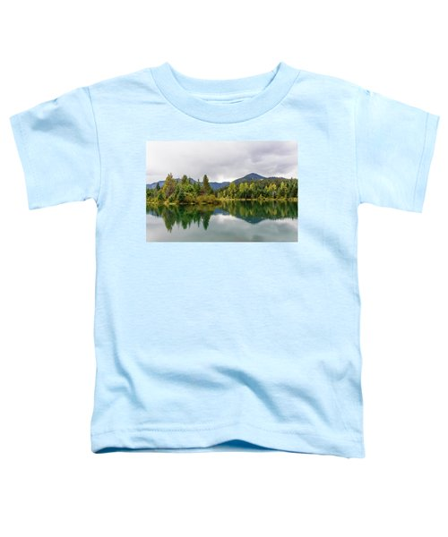 Falls Colors In Gold Creek Pond Toddler T-Shirt