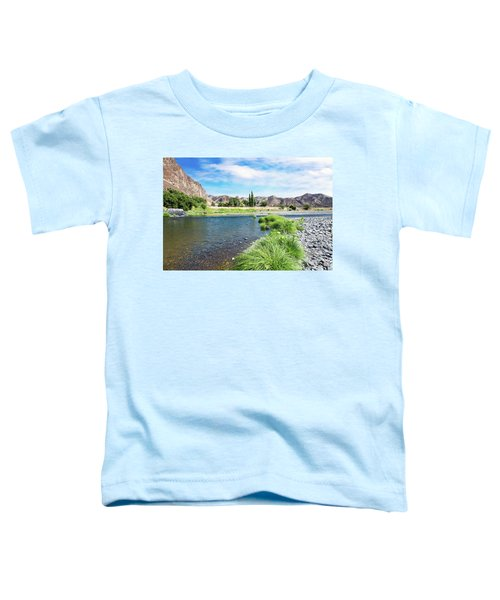 Farmland Along John Day River Toddler T-Shirt