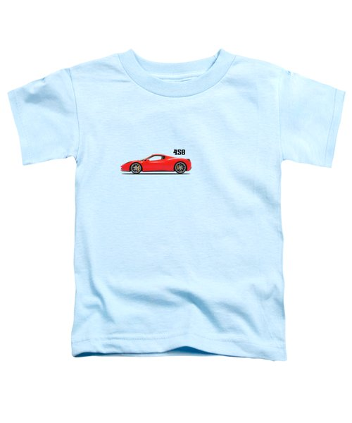 Ferrari 458 Italia Toddler T-Shirt by Mark Rogan