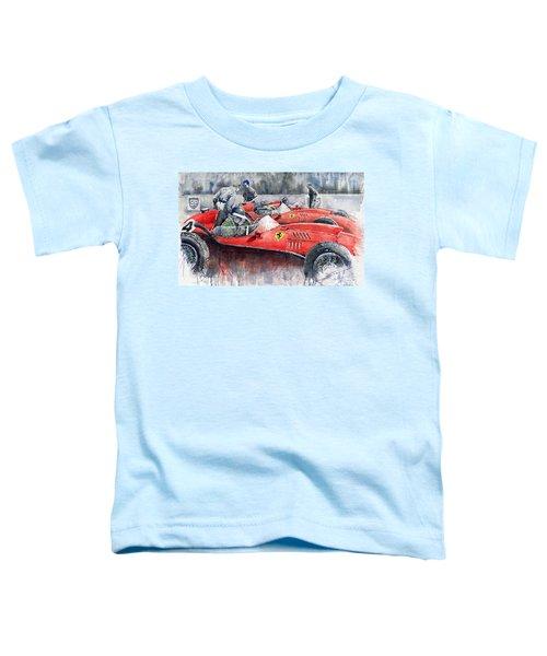 Ferrari Dino 246 F1 1958 Mike Hawthorn French Gp  Toddler T-Shirt